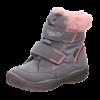 Kép 1/6 - Superfit csizma Crystal szürke-rózsaszín szőrmés