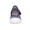 Kép 5/5 - Superfit Bella kék-ezüst csillagosvászoncipő