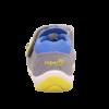 Superfit kisfiú zárt orrú szandál Freddy szürke-sárga