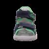 Kép 8/8 - Superfit szandál Flow kék-zöld versenyautós