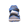 Kép 7/7 - Fekete-kék rombusz mintás fiú Superfit Mike3 szandál