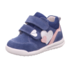 Kép 1/7 - Superfit Avrile Mini kislány cipő kék-ezüst