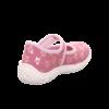Kép 6/6 - Superfit Belinda vászoncipő kislány púder mintás