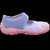 Égkék pillangós kislány Superfit Bonny vászoncipő