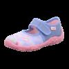 Kép 1/8 - Superfit Belinda vászoncipő kislány púder mintás