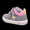 Szürke-rózsaszín kislány Superfit Moppy cipő