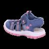 Kép 3/8 - Superfit zart orrú kislány szandál lányoknak kék-rózsaszín csillaggal
