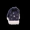 Kép 4/7 - Sötétkék csillagos kislány Superfit Spotty vászoncipő