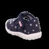 Kép 3/7 - Sötétkék csillagos kislány Superfit Spotty vászoncipő