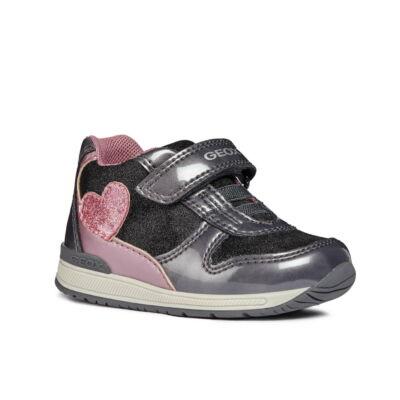 Geox Rishon grey/pink kislány gyerekcipő