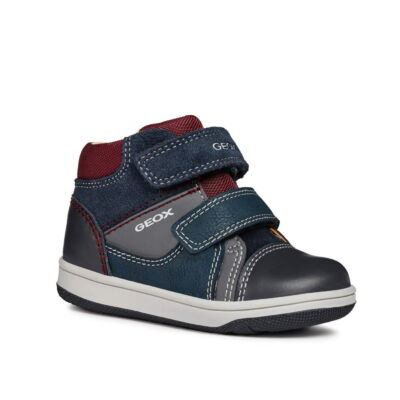 Geox B New Flick Boy navy/grey kisfiú gyerekcipő