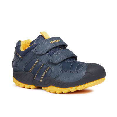 Geox New Savage navy/yellow  fiú gyerekcipő