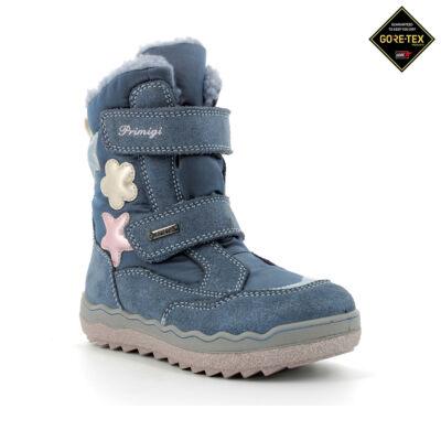Primigi PFZGT azzuro/jeans  Gore-tex lány vízálló bundás téli csizma