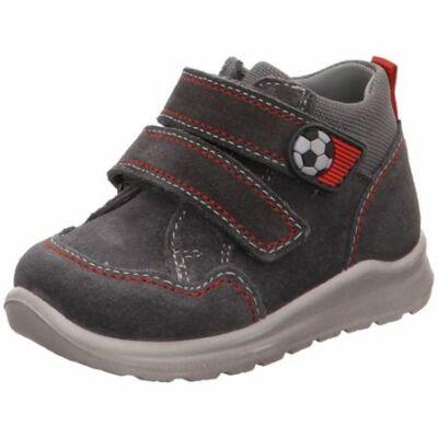 Superfit Mel grey/red kisfiú gyerekcipő