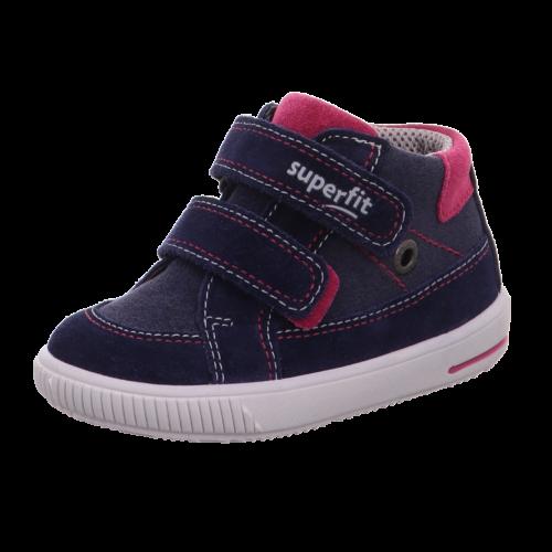 Superfit kislány cipő sötétkék-pink