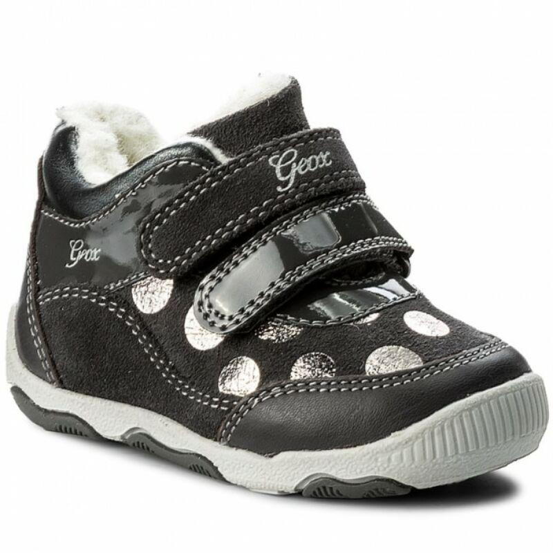 Geox New Balu grey bélelt gyerekcipő