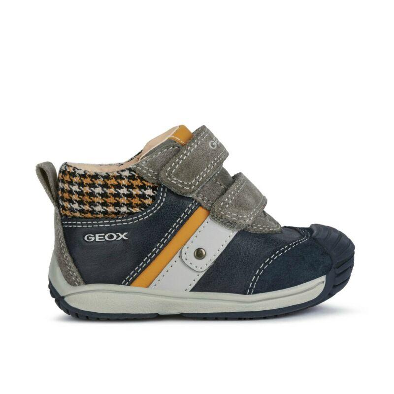 Geox fiú gyerek cipő Toledo kék sárg