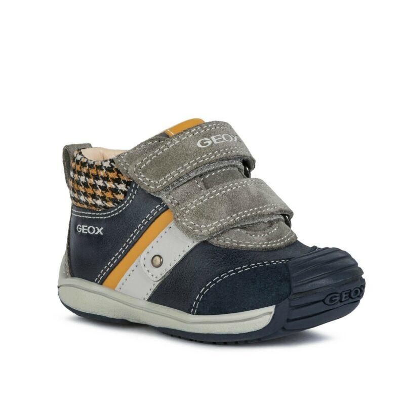 Geox fiú gyerek cipő Toledo kék sárga