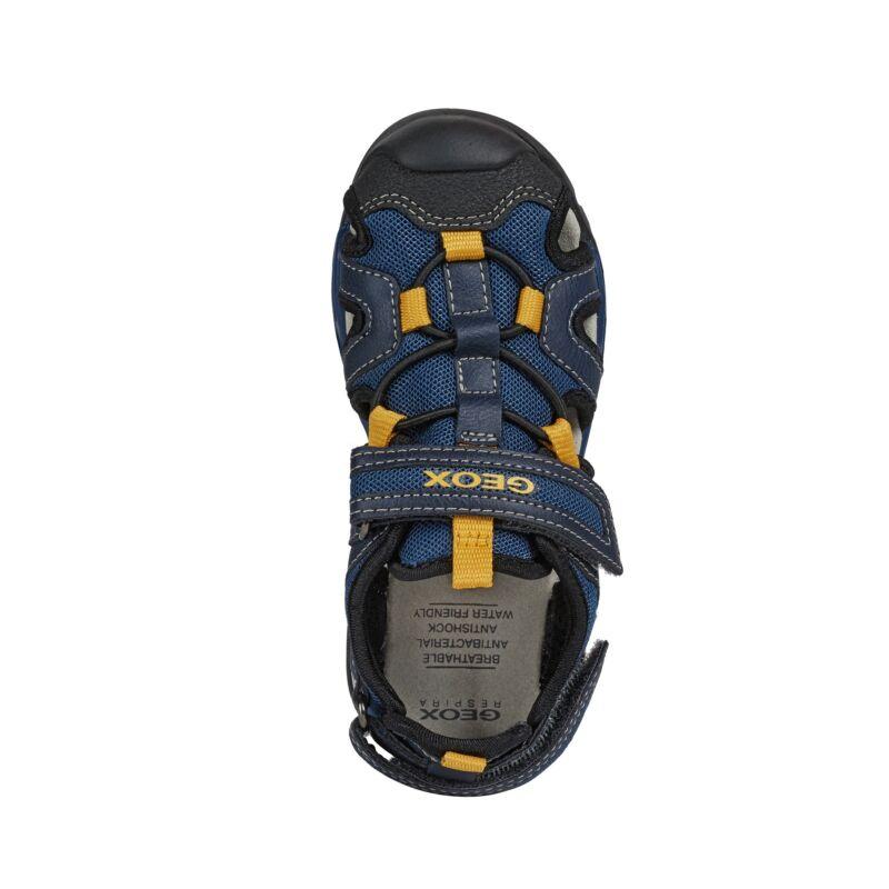 Geox fiú szandálcipő J. Borealis kék-sárga