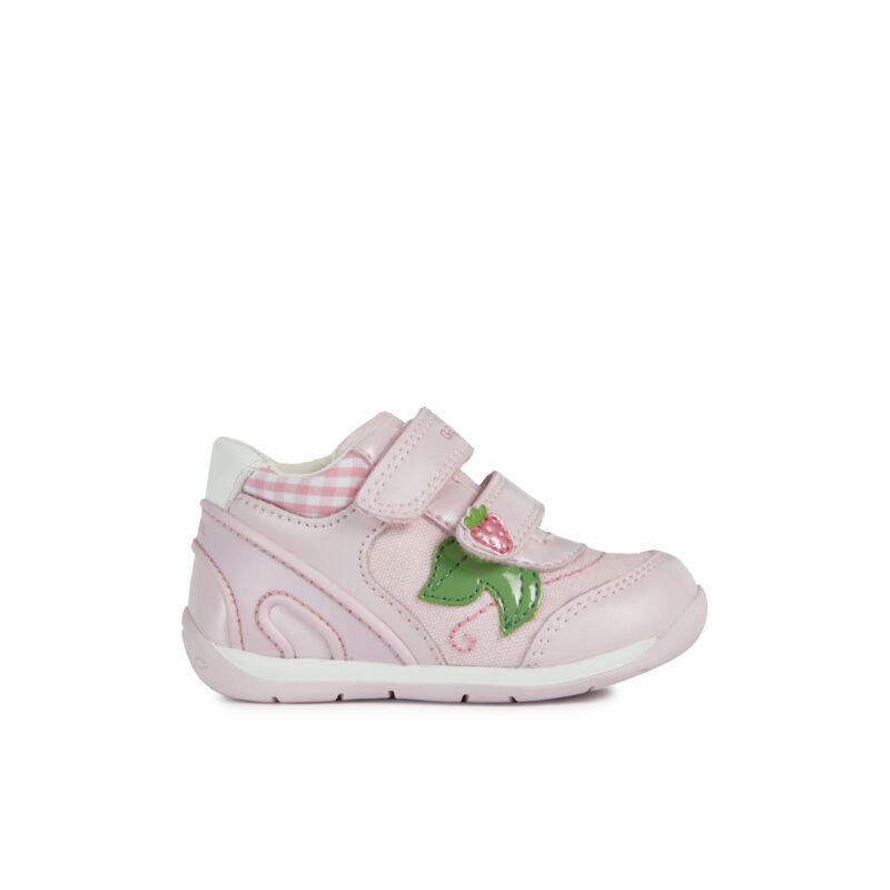 Geox babacipő Each rózsaszín epres
