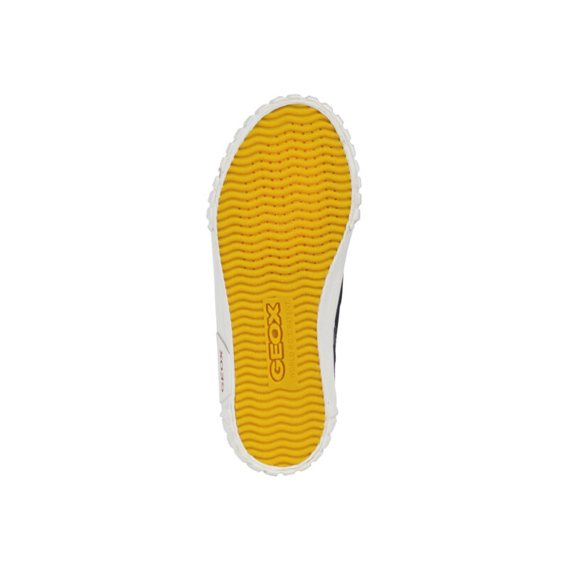 Geox gyerek tornacipő Jr Kilwi sötétkék-piros