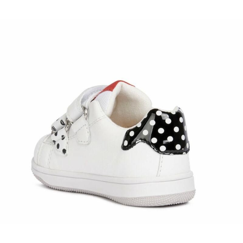 Geox Disney Minnie egér sportcipő fehér-fekete