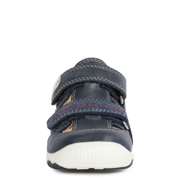 Geox Balu félnyitott gyerek cipő sötétkék-piros
