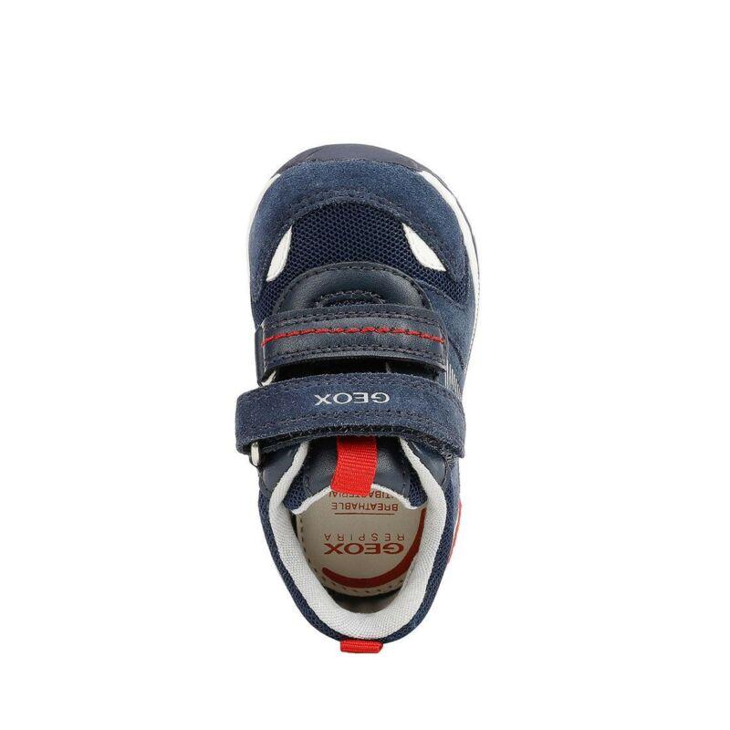 Geox Rishon kisfiú gyerek cipő sötétkék-piros