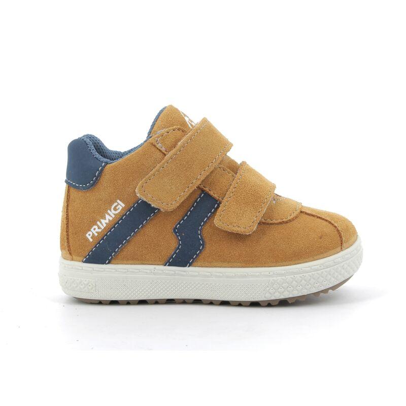 Primifi kisfiú átmeneti cipő mustársága-kék