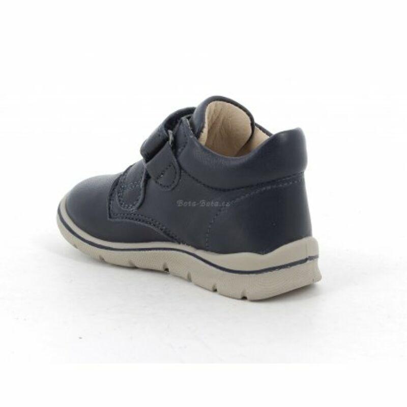 Primigi kisfiú kék bőr cipő