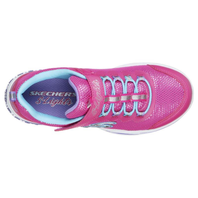 Skechers Power Petals villogó talpú gyerekcipő