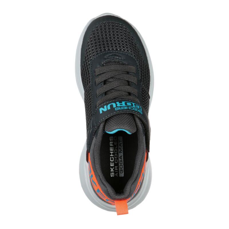 Skechers Go Run Fast gyerek cipő szürke-narancs