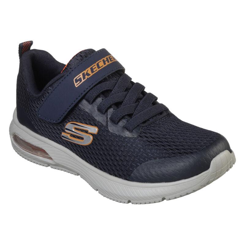 Skechers Dyna-air kék-narancs gyerek cipő