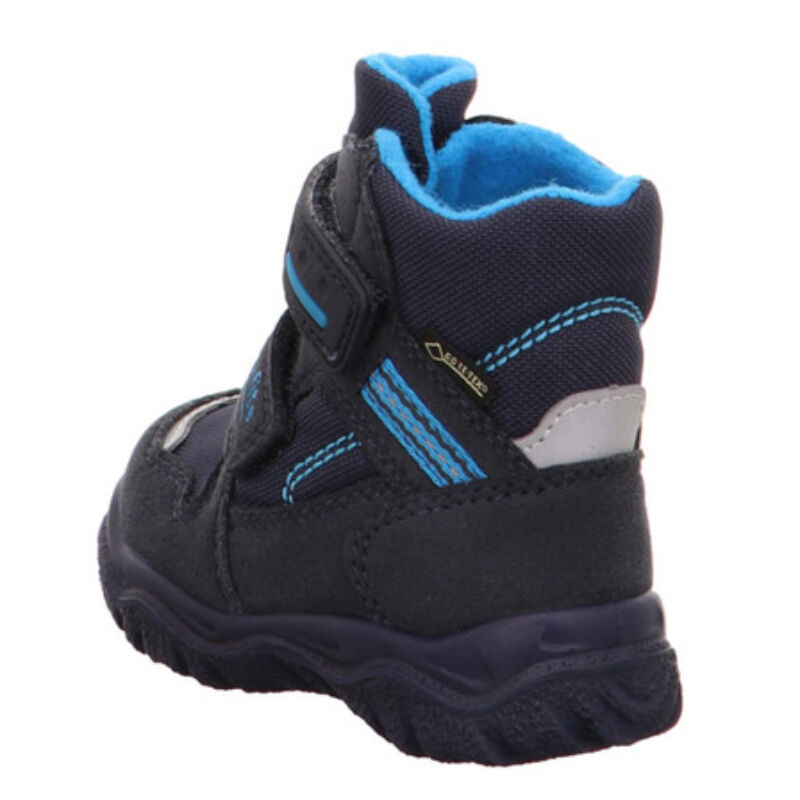 Vízálló bundás téli kisfiú kék Husky1 Superfit csizma
