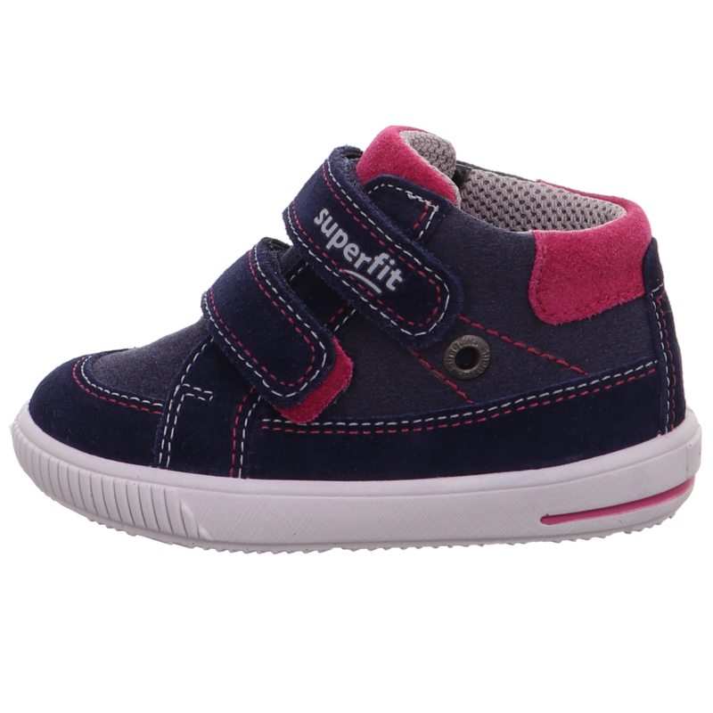 Superfit kislány cipő Moppy sötétkék-pink