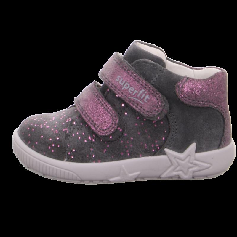 Szürke-csillám kislány Starlight Superfit cipő