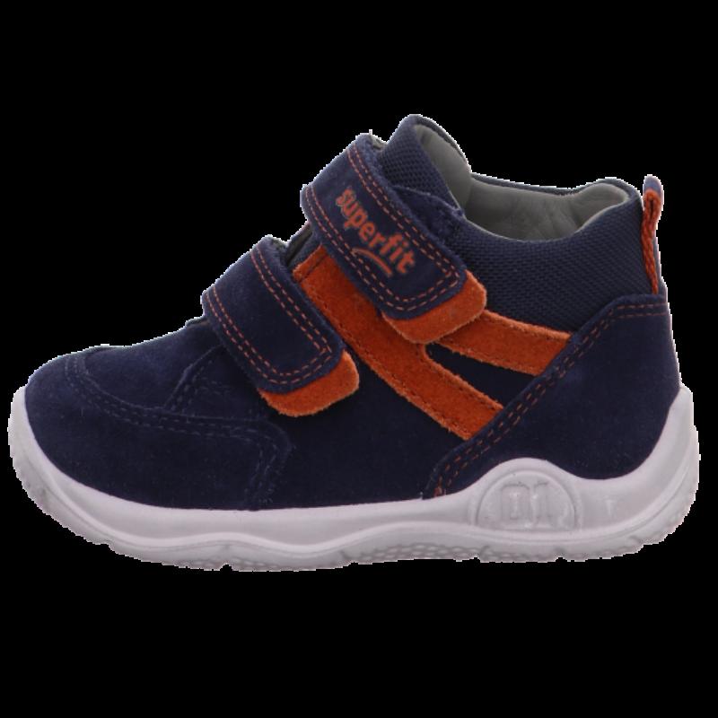 Universe sötétkék-narancs kisfiú Superfit cipő