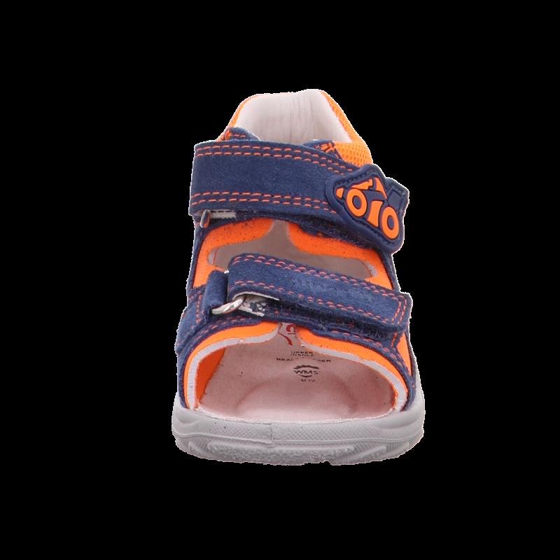Superfit szandál Flow narancs-kék