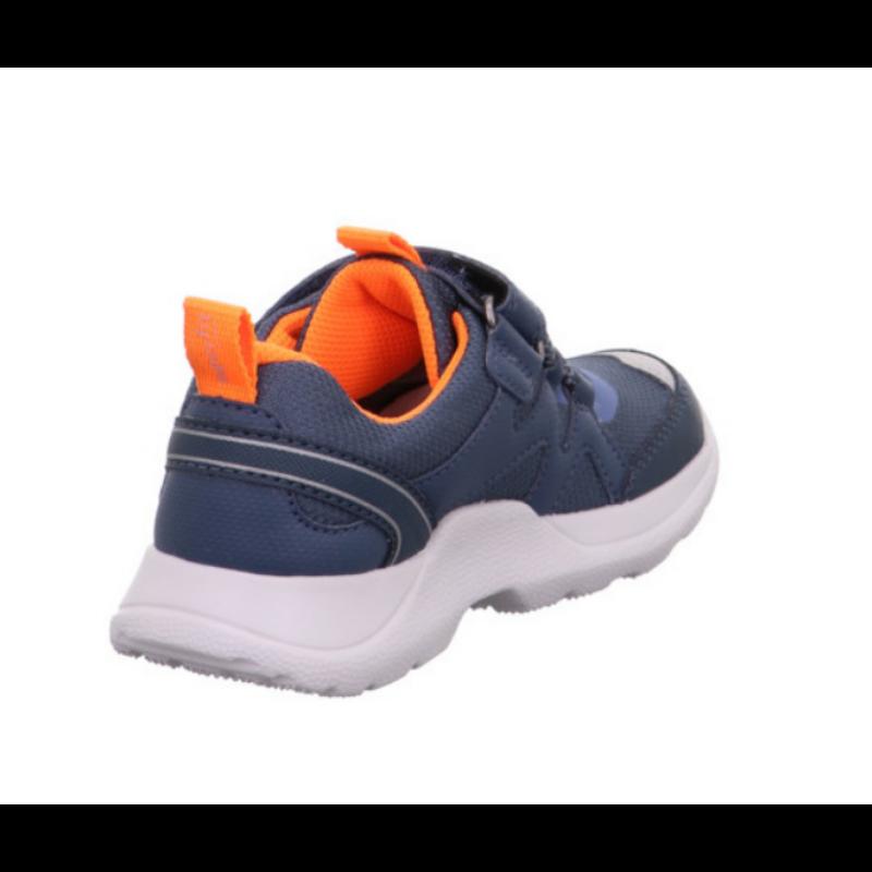 Superfit vízálló sportcipő Rush középkék narancs