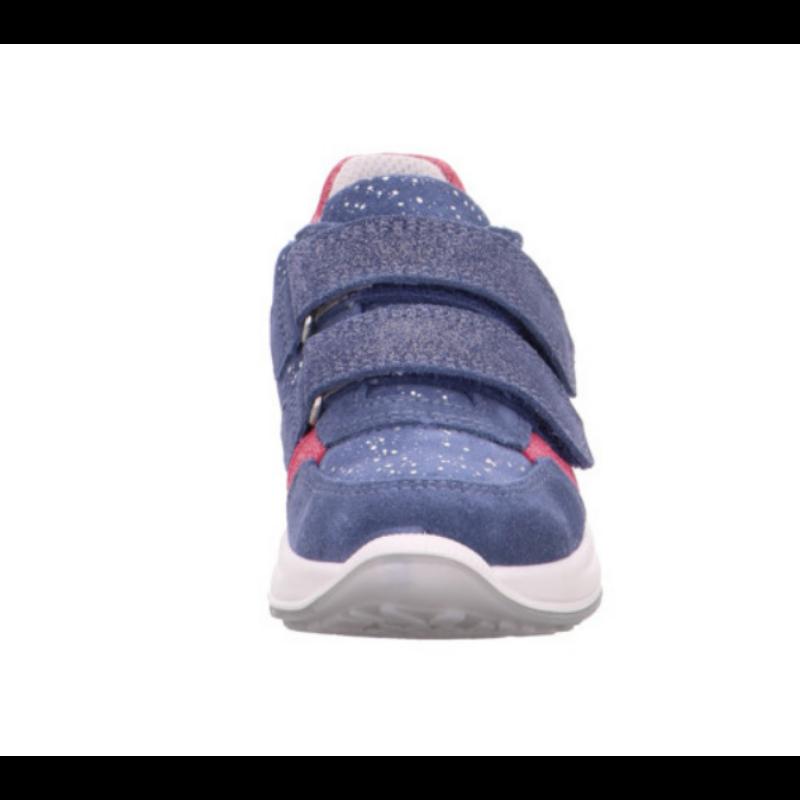 Superfit lány vízálló cipő kék-rózsaszín